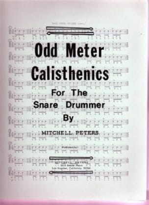 Mitchell Peters - Odd Meter Calisthenics - Partition - di-arezzo.com