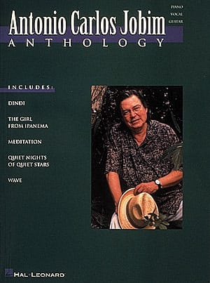 Antonio Carlos Jobim - Anthology - Partition - di-arezzo.co.uk