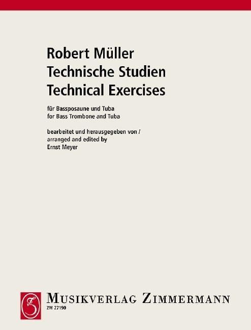 Robert Müller - Technische Studien - Partition - di-arezzo.co.uk
