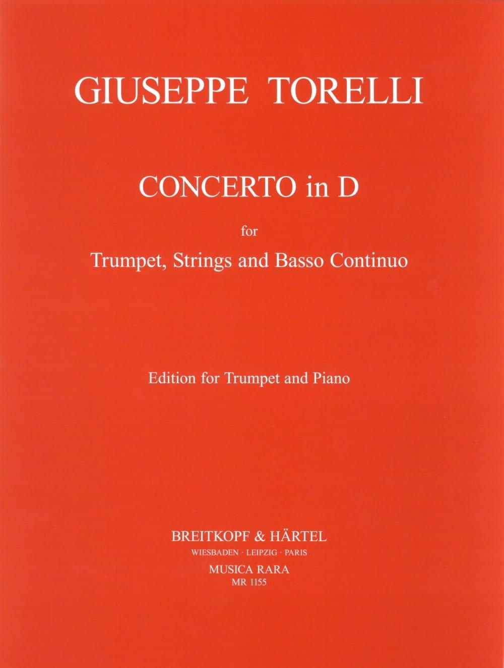 Concerto En Ré pour Trompette - TORELLI - Partition - laflutedepan.com