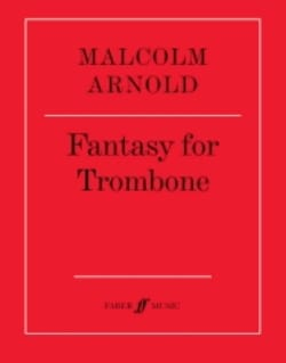 Malcolm Arnold - Fantasy for Trombone Opus 101 - Partition - di-arezzo.co.uk