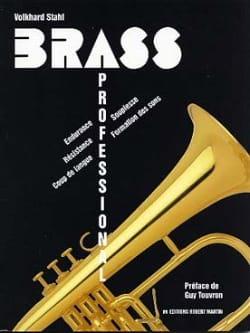 Brass professional - Volkhard Stahl - Partition - laflutedepan.com