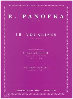 E. Panofka - 10 Vocalises - Partition - di-arezzo.co.uk