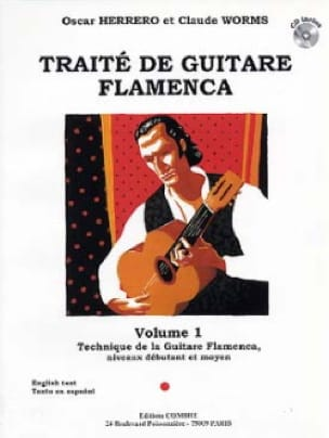 Herrero Oscar / Worms Claude - Flamenco Guitar Treatise Volume 1 - Partition - di-arezzo.co.uk