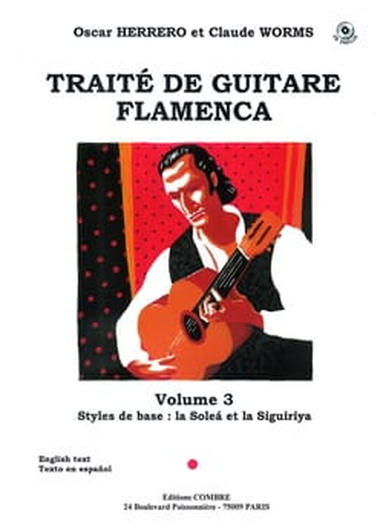 Traité de Guitare Flamenca Volume 3 - laflutedepan.com