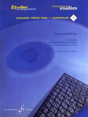 Patrice Sciortino - 50 Easy and Progressive Studies Volume 1 - Partition - di-arezzo.co.uk