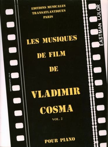 Vladimir Cosma - The Soundtracks Volume 2 - Partition - di-arezzo.co.uk