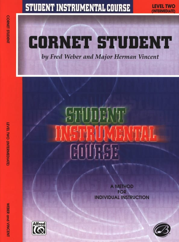 Cornet Student Volume 2 - Weber F. / Vincent M.H. - laflutedepan.com