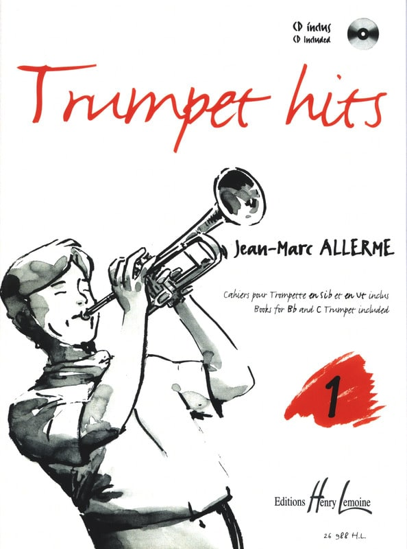 Jean-Marc Allerme - Trumpet Hits Volume 1 - Partition - di-arezzo.com