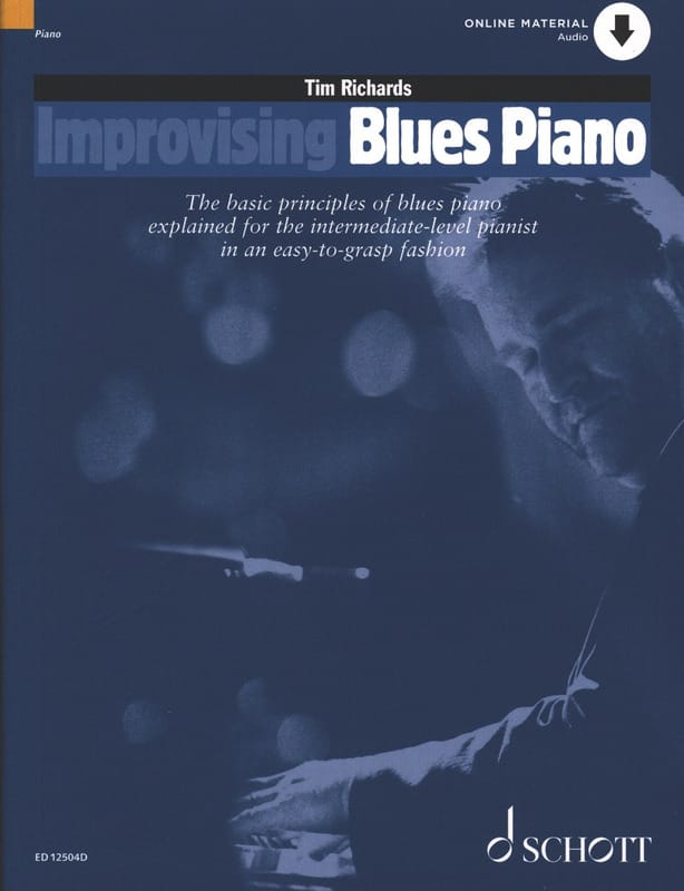 Tim Richards - Improvisierendes Blues Piano - Partition - di-arezzo.de