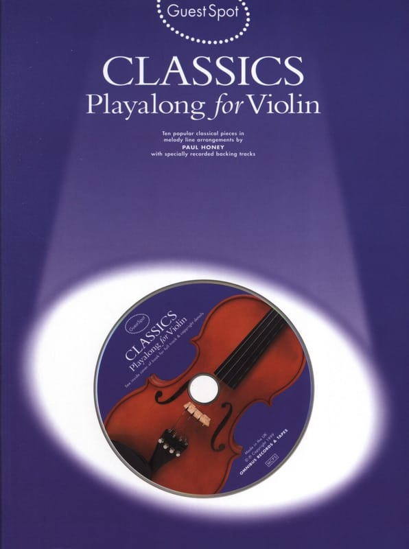 Guest Spot - Classics Playalong For Violin - laflutedepan.com