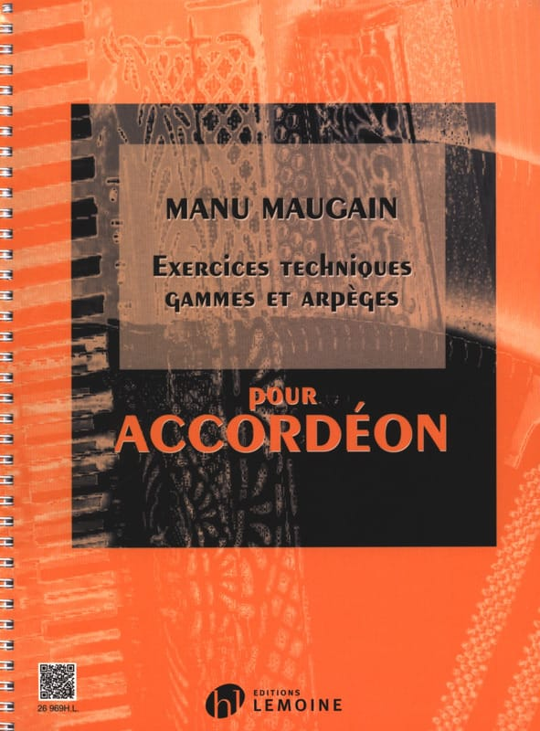 Manu Maugain - Technical Exercises, Ranges And Arpeggios - Partition - di-arezzo.com