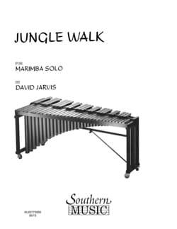 Jungle Walk - David Jarvis - Partition - Marimba - laflutedepan.com