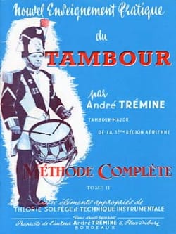 André Trémine - New Practical Drum Teaching Volume 2 - Partition - di-arezzo.co.uk