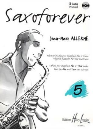 Jean-Marc Allerme - Saxoforever Volume 5 - Partition - di-arezzo.com