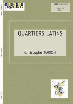 Quartiers Latins - Christophe Torion - Partition - laflutedepan.com