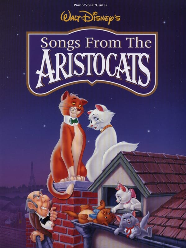 DISNEY - The Aristocats - Partition - di-arezzo.co.uk