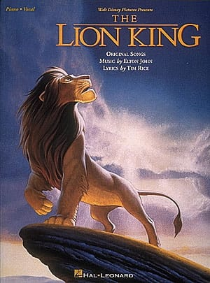 Elton John - The Lion King - Partition - di-arezzo.com