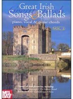 Great Irish Songs And Ballads Volume 2 - laflutedepan.com