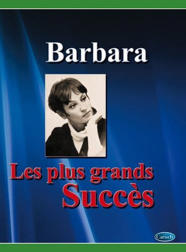 Les plus grands succès - Barbara - Partition - laflutedepan.com