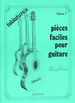 Pièces Faciles Pour Guitare Volume 2 - laflutedepan.com