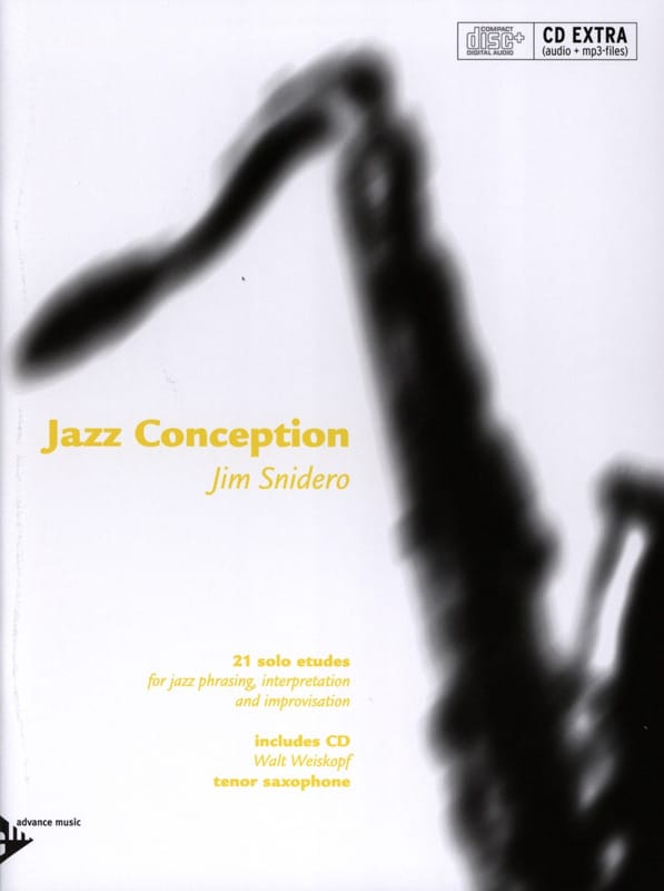 Jim Snidero - Jazz design - 21 solo studies - Partition - di-arezzo.co.uk
