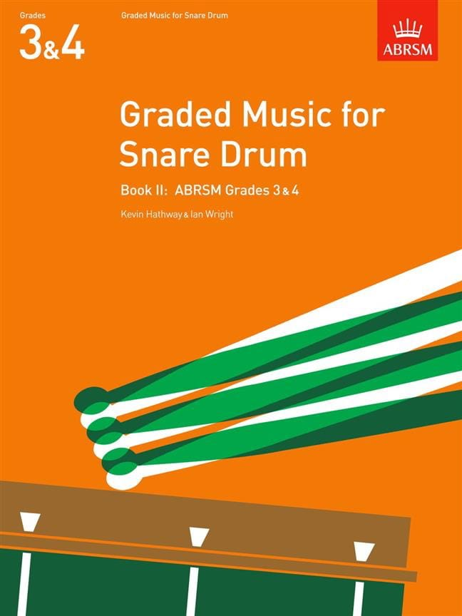 Hathway Kevin / Wright Ian - Graded Music For Snare Drum Volume 2 - Partition - di-arezzo.co.uk