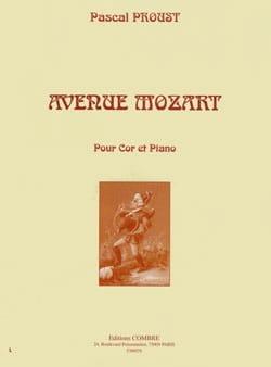 Pascal Proust - Avenue Mozart - Partition - di-arezzo.ch