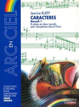 Jeanine Rueff - Caracteres del volumen 1 - Partition - di-arezzo.es