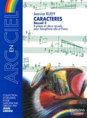 Jeanine Rueff - Caracteres del volumen 2 - Partition - di-arezzo.es