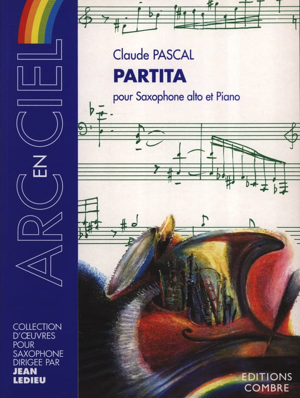 Claude Pascal - Partita - Partition - di-arezzo.co.uk