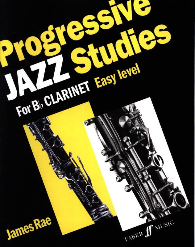 James Rae - Progressive Jazz Studies - Easy Level - Partition - di-arezzo.co.uk