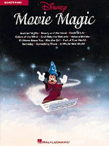 Disney Movie Magic Big Note - DISNEY - Partition - laflutedepan.com