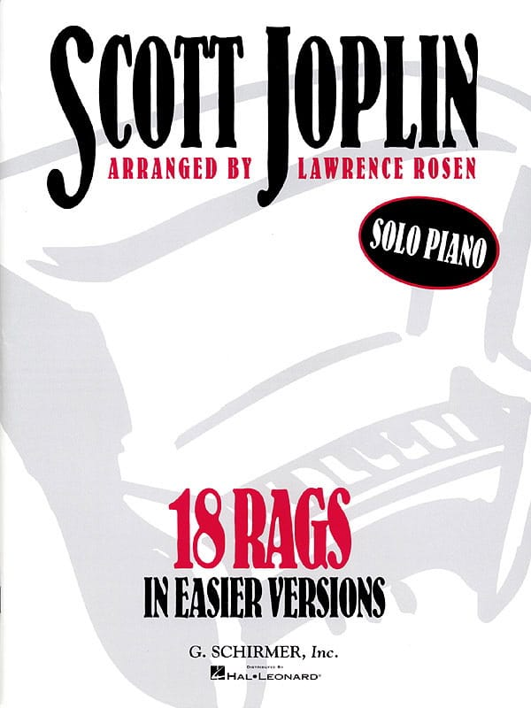 Scott Joplin - 18 Rags In Easier Version - Partition - di-arezzo.co.uk