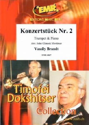Vassily Brandt - Konzertstuck Nr. 2 In Es Dur Opus 12 - Partition - di-arezzo.com