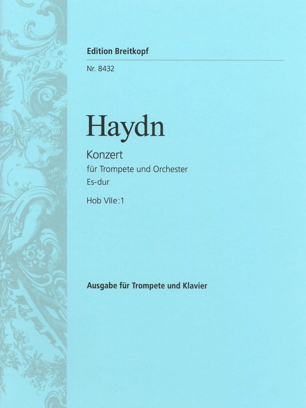 HAYDN - Concierto N ° 1 en mi bemol mayor para trompeta - Partition - di-arezzo.es