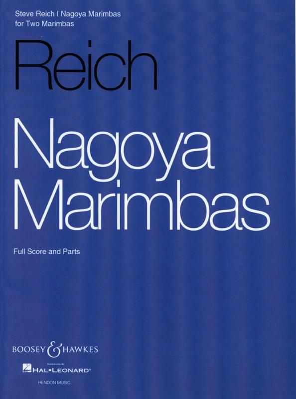 Steve Reich - Nagoya Marimbas - Partition - di-arezzo.co.uk