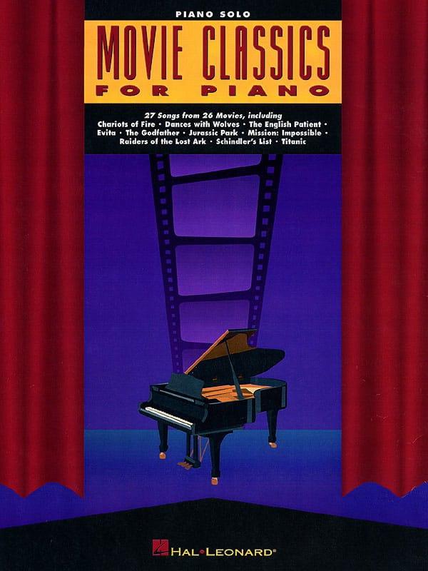 - Movie Classics For Piano - Partition - di-arezzo.com