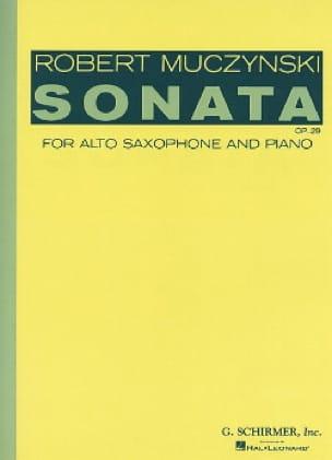 Sonata Opus 29 - Robert Muczynski - Partition - laflutedepan.com