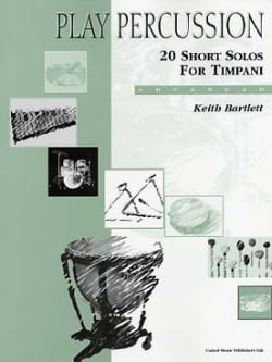 Keith Bartlett - 20 Short Solos For Timpani - Advanced - Partition - di-arezzo.co.uk