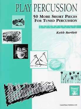 50 More Short Pieces For Tuned Percussion - Intermediate / Advanced - laflutedepan.com