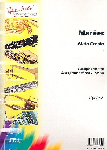 Alain Crepin - tides - Partition - di-arezzo.co.uk