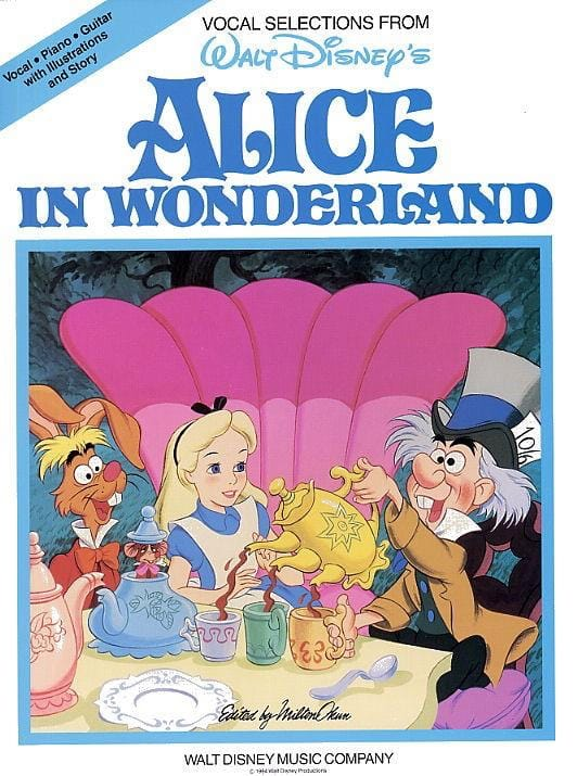 DISNEY - Alice in Wonderland - Partition - di-arezzo.co.uk