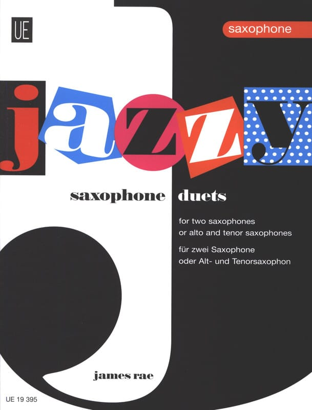 James Rae - Jazzy Duets For Saxophones - Partition - di-arezzo.com