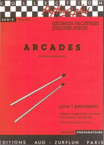 Georges Paczynski - Arcades In Three Movements - Partition - di-arezzo.co.uk