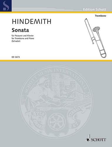Paul Hindemith - Sonata - Partition - di-arezzo.co.uk