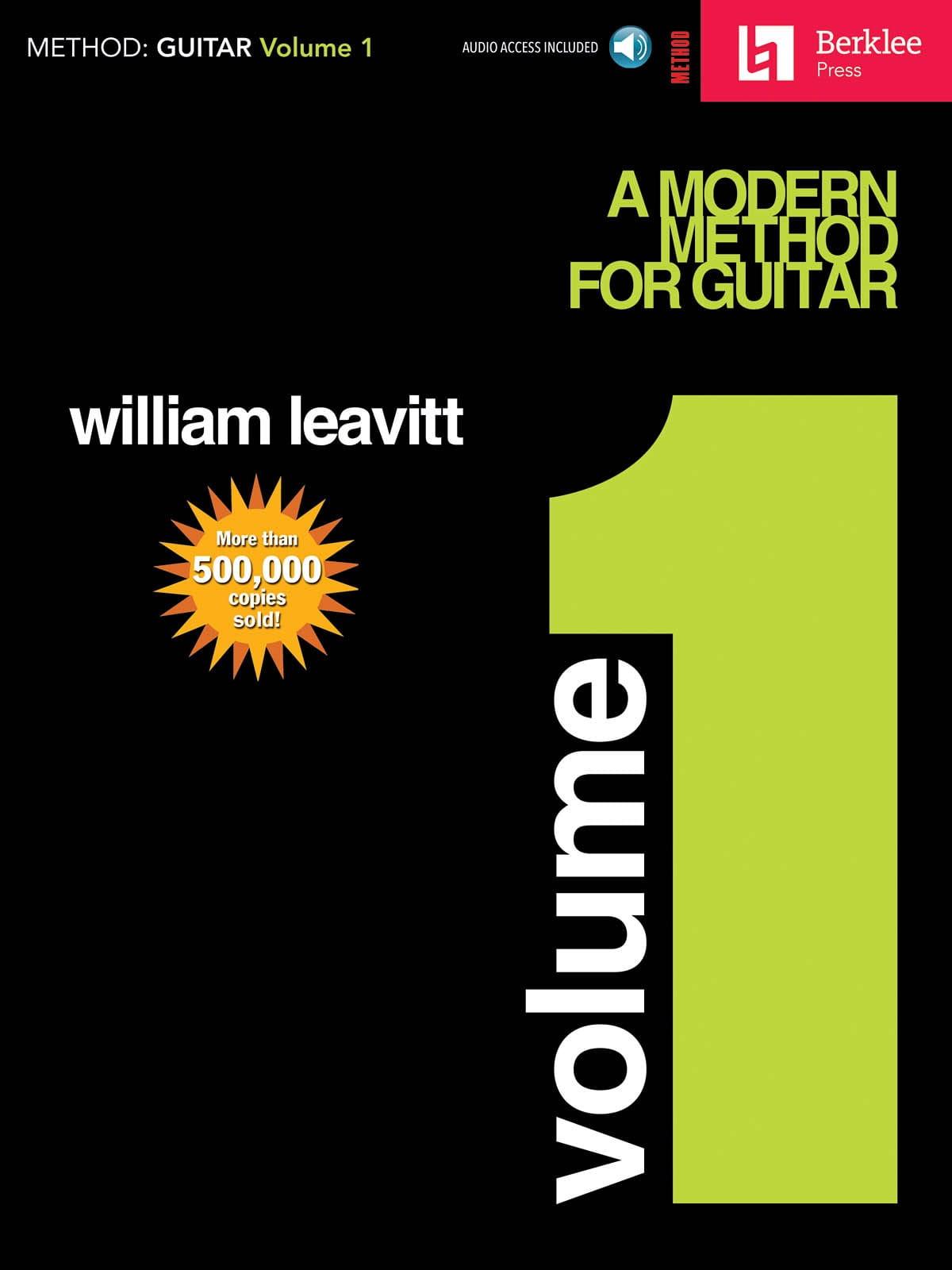 A Modern Method For Guitar Volume 1 - laflutedepan.com
