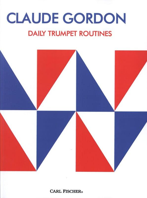 Daily Trumpet Routines - Claude Gordon - Partition - laflutedepan.com