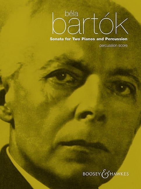 BARTOK - Sonata For Two Pianos And Percussion - Percussion - Partition - di-arezzo.co.uk