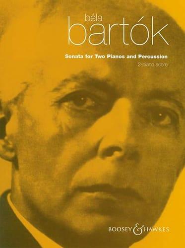 BARTOK - Sonata For Two Pianos And Percussion - Piano Conductor - Partition - di-arezzo.co.uk